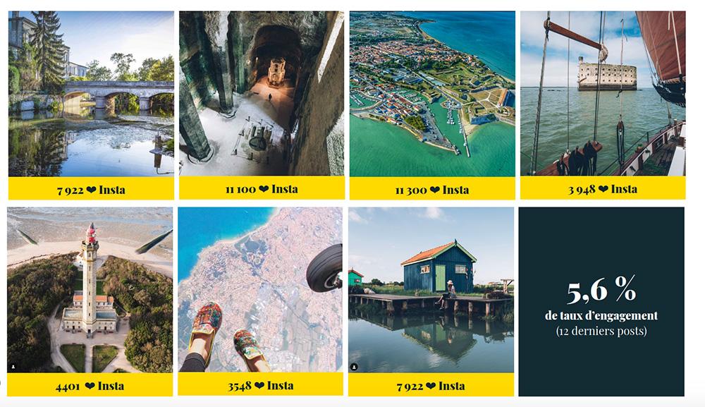 Meilleurs posts Instagram 2019 Infiniment Charentes